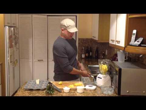 How To Make Pineapple Popsicles - Paletas De Piña