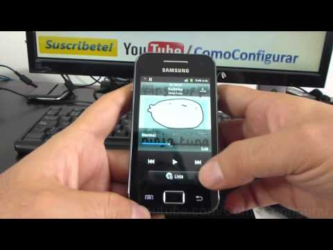 Como cambiar ringtone a samsung Galaxy Ace S5830 español Full HD