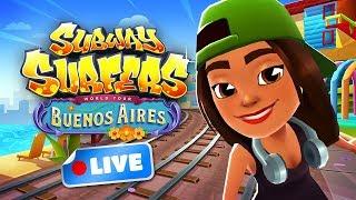 🎮 Subway Surfers World Tour 2018 - Buenos Aires Gameplay Livestream