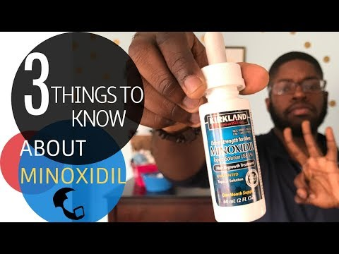 MINOXIDIL FOR BEARD GROWTH: 3 Things Every Beginner Should Know!!!
