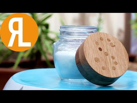 DIY Wood Mason Jar Lid