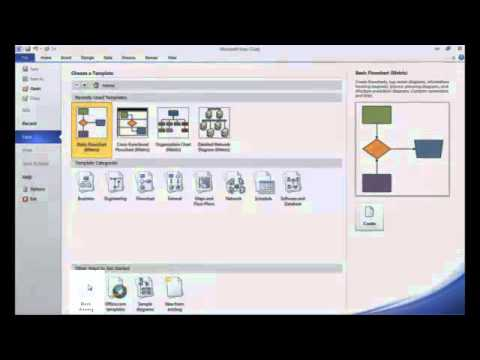 Intro to Creating Basic Process Flow Diagrams in Visio 2010
