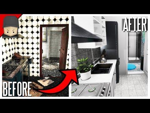 House Flipper - FULL RENOVATION & HUGE PROFIT! (House Flipper Gameplay)