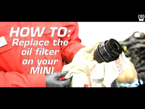 How To: Change Oil & Replace Oil Filter on a MINI Cooper S - DIY Tutorial