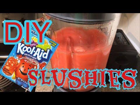 Today We Made Kool Aid Slushies!