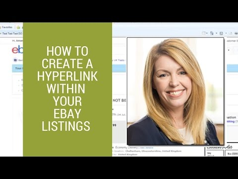eBay selling tips: How to create a hyperlink within your listings
