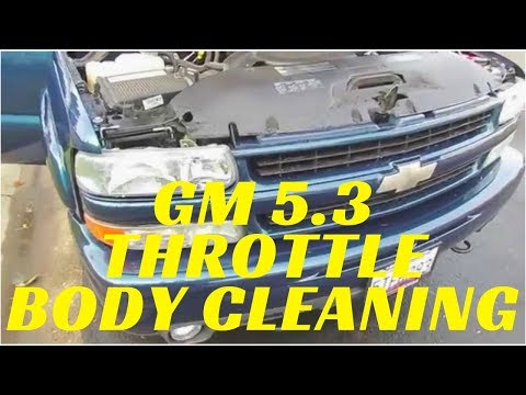 GM 2000-2006 5.3 Vortec Throttle Body - MAF Cleaning