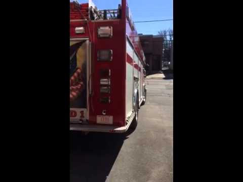 Hamden Ct fire dept responding