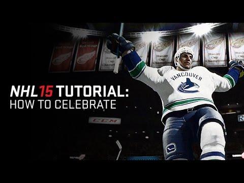 NHL 15 - Celebrations Tutorials
