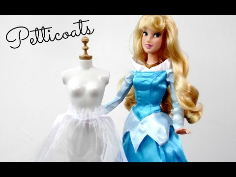 How to Make a Doll Petticoat - Easy