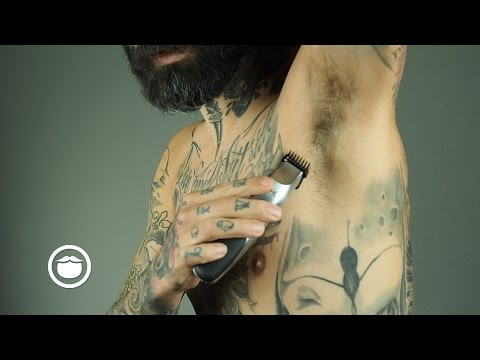 How to Groom Men's Armpits | Carlos Costa