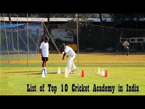 List of Top 10 Cricket Academy in India | Best Cricket School in India | CricketBio