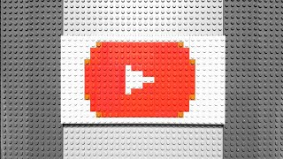 Lego Pixel Art Gucci Logo