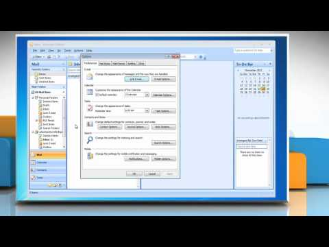Microsoft® Outlook 2007: How to disable Junk Mail Filter on Windows® 7?