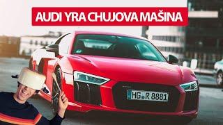 AUDI R8 V10 PLUS // AYCM? // KONKURSAS // REAL TEST DRIVE