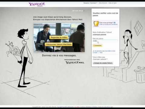 How to change language in yahoo mail.avi