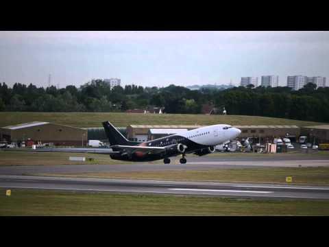 Titan Airways Flight 13 (BHX to Lisburn)