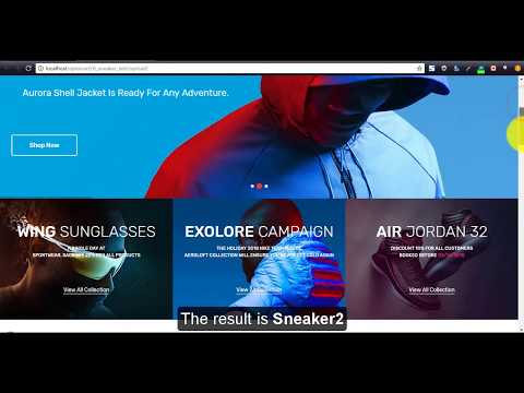 How to install Sneaker Responsive Opencart theme