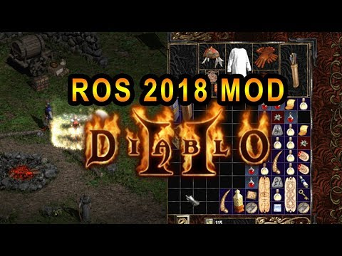 Fan Made Expansion Mod DLC for Diablo 2 Reaper of Souls 2018 Ver