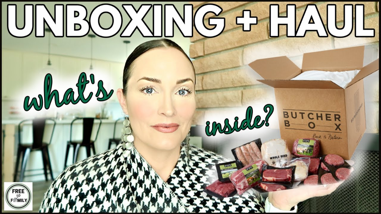 🍖What's in My ButcherBox - Is it Worth It? 🍗Unboxing HAUL 2021 *FREE* 2lb. Ground BEEF for LIFE!!!