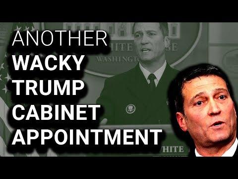 Trump Fires VA Secretary, Hires That Doctor Guy