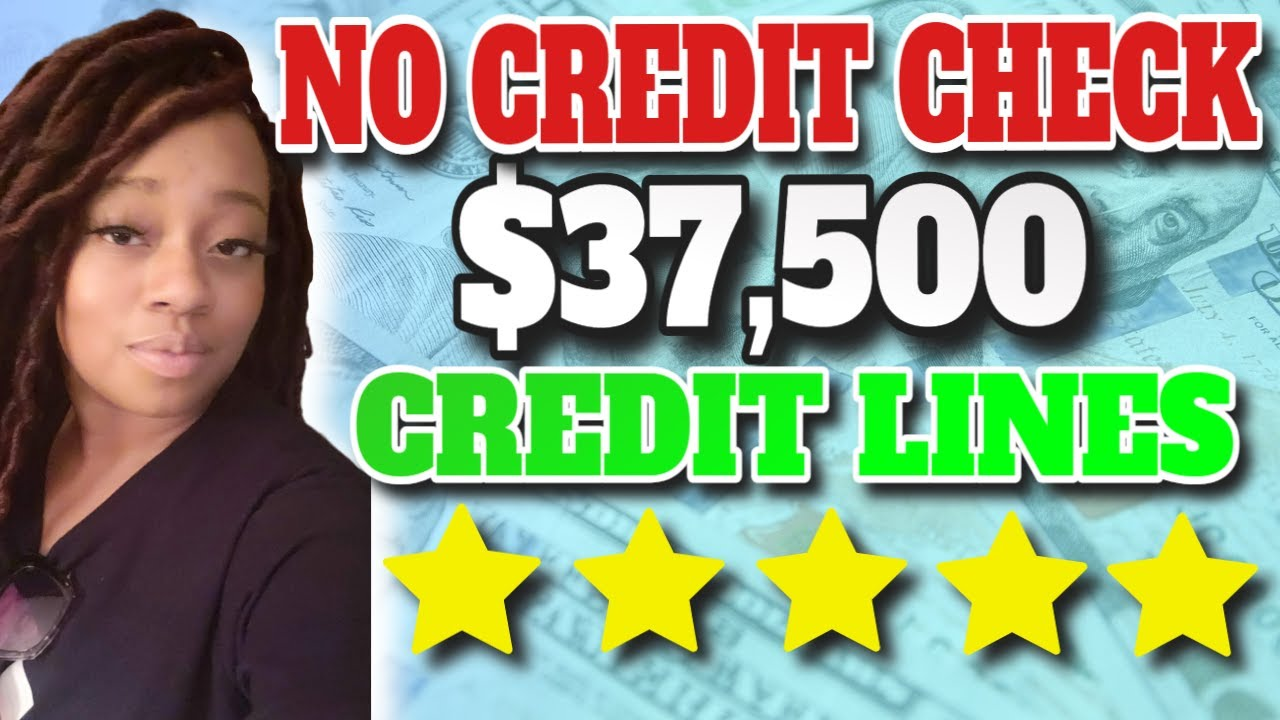 $37,500 INSTANT Credit Lines For Bad Credit