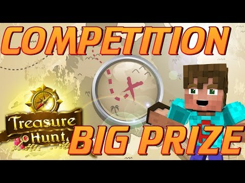 Minecraft: TREASURE HUNT COMPETITION   Win An Awesome & Unique Prize April 2018 Minecraft Lets Play