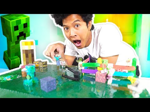 100 Pound Ultra Jello Minecraft World!!!