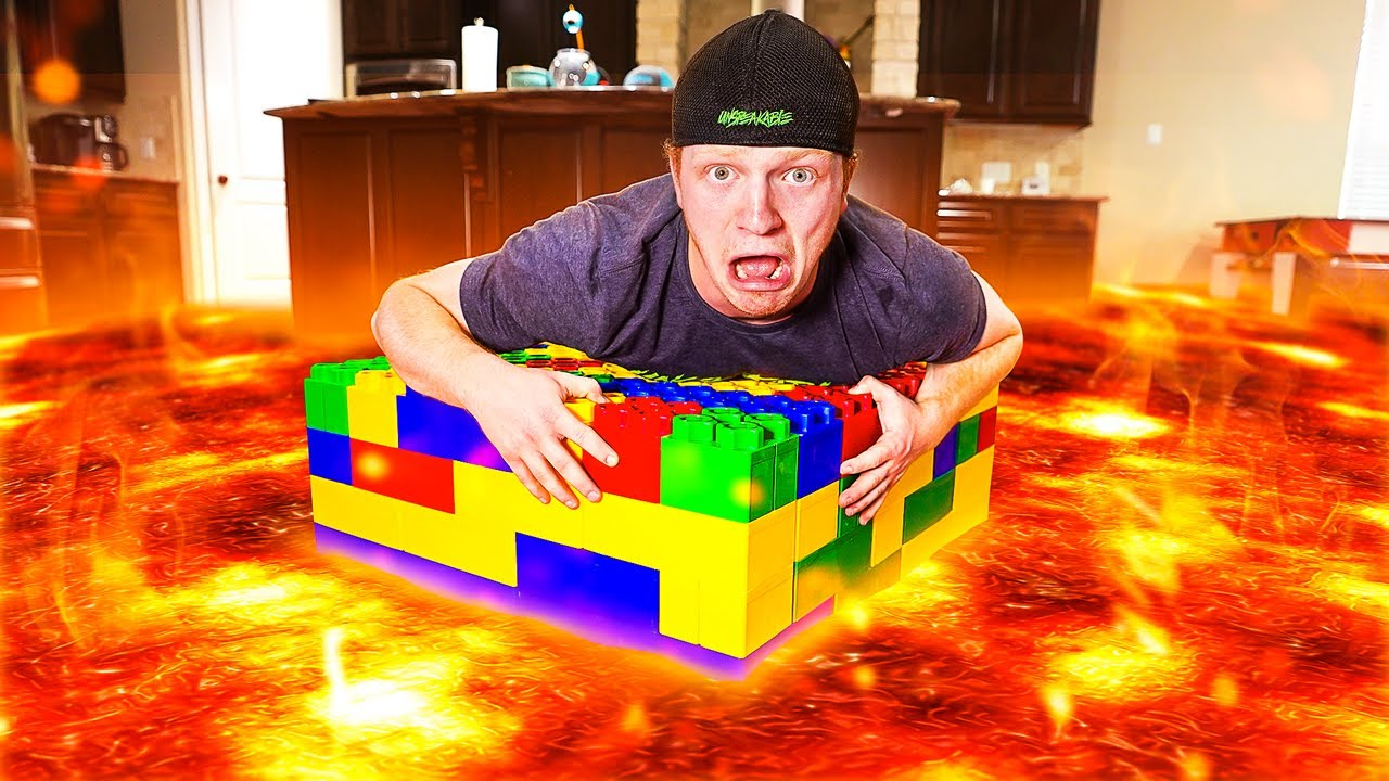 I Turned My ENTIRE House Into LAVA!
