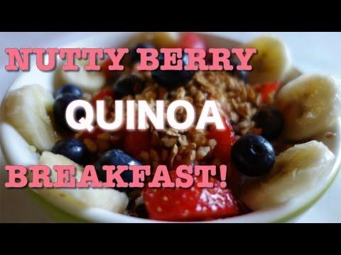 Yummy Vegan Quinoa Porridge Breakfast Recipe!