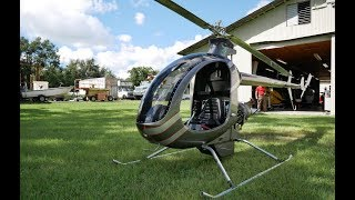 Mosquito XET Turbine. Private Helicopter For Less Than $50,000