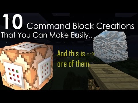 10 Command block creations that you can easily make in Minecraft PE