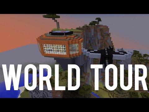 Minecraft Updates World Tour - Minecraft 1.9 Features