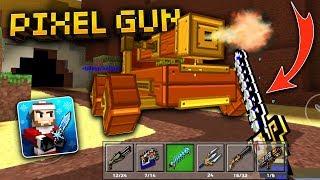 how to get guns in sandbox pixel gun 3d 13.0.3