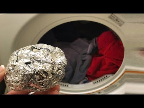 Put Silver Foil In Washing Machine And You'll Be Amazed With What Happens Next
