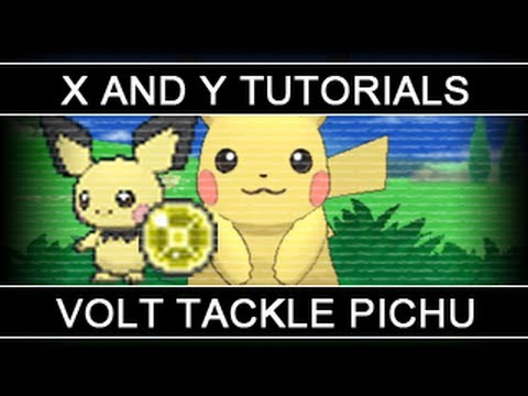 Pokemon X and Y Tutorials 06: Obtaining Light Ball and Volt Tackle Pichu