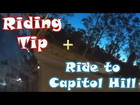 Tips on safe riding | Cruising through Capitol Hill (Sydney)