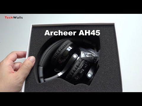 Archeer AH45 Bluetooth Headphones / Mini Speaker Unboxing & Sound Test
