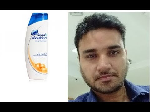 Product review Head n shoulder anti hair fall shampoo