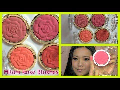 Milani Matte Rose Powder Blushes Spring 2014