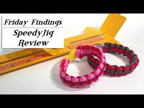How to Use a SpeedyJig to Make Jewelry & Paracord Bracelets-Friday Findings