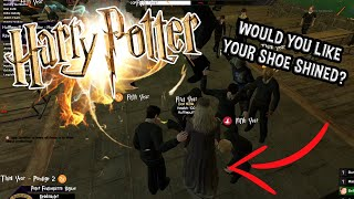 Dumbledore and The Shoeshiners l Harry Potter RP #8