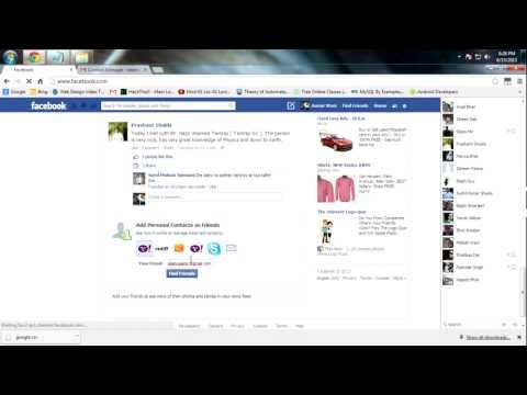 How to import Gmail contacts into Facebook
