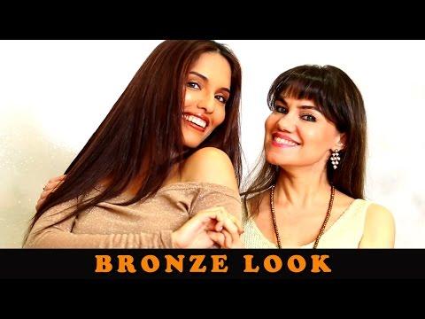 Bronze Look Makeup By Marvie Beck | Tutorial | Marvie Ann Beck Makeup Academy