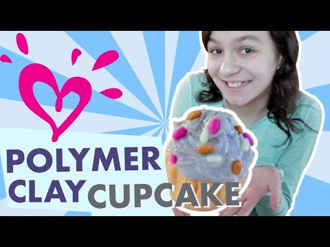 HOW TO MAKE POLYMER CLAY CUPCAKES 💗 JUSTICE