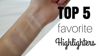 TOP FIVE FAVORITE HIGHLIGHTERS!