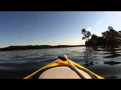 Kayaking In Eel Bay