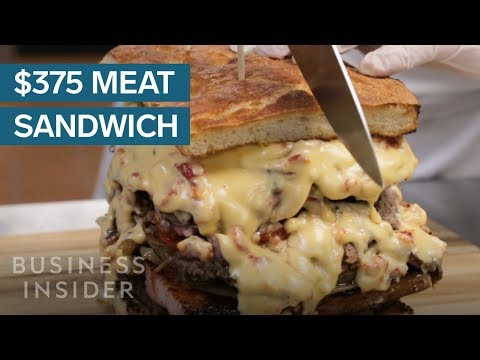 This 8-Pound Sandwich Is Made With Five Kinds Of Meat And Costs $375