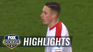 Dominik Kohr pulls one back for Augsburg | 2016-17 Bundesliga Highlights
