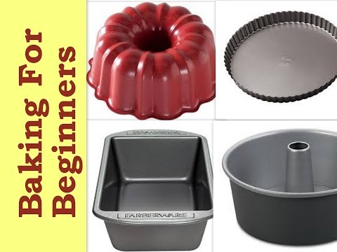 Baking Tins & Pans - For Beginners